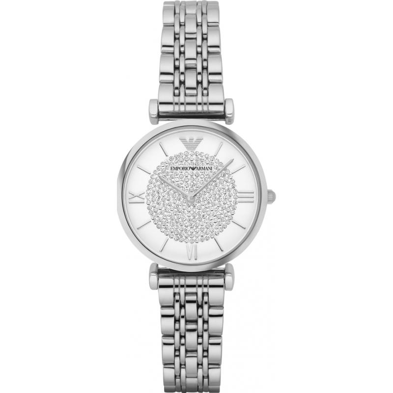Emporio Armani AR1925 Damer silver stål klänning klocka