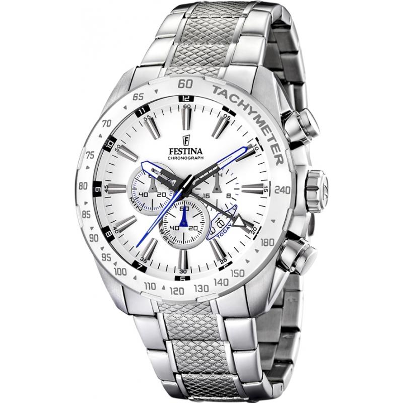 Festina F16488-1 reloj de tiempo doble para hombre del cronógrafo
