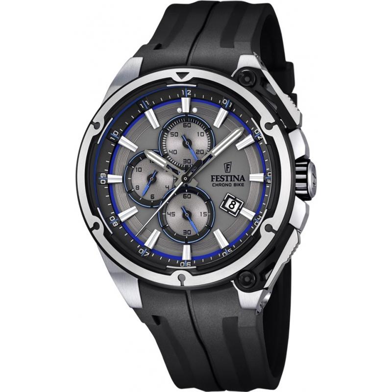 F16882 3 festina mens 2015 chrono bike tour de france black watch for Watches of france
