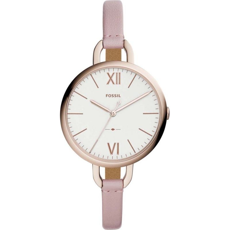 730c0df3c Pink Leather ES4356 Fossil Watch | Watches2U