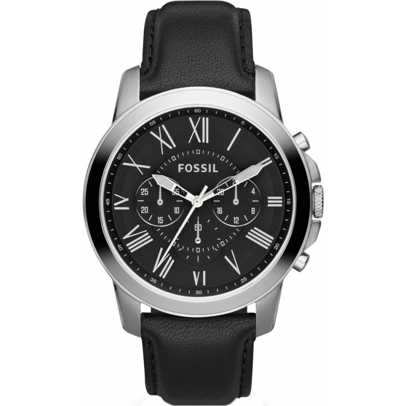 54a5f932b Black Leather FS4812IE Fossil Watch | Watches2U