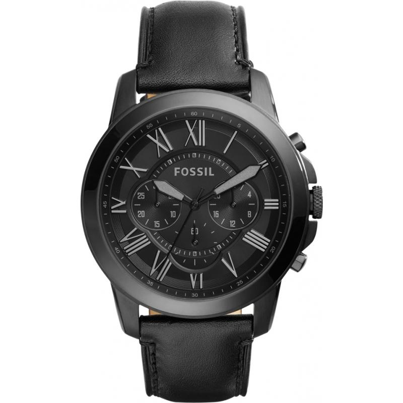 Fossil FS5132 Mens Grant Black Chronograph Watch