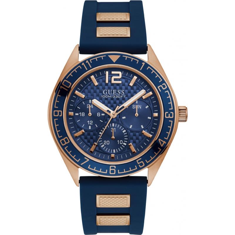 eb097c3c756b Blue W1167G3 Guess Pacific Watch