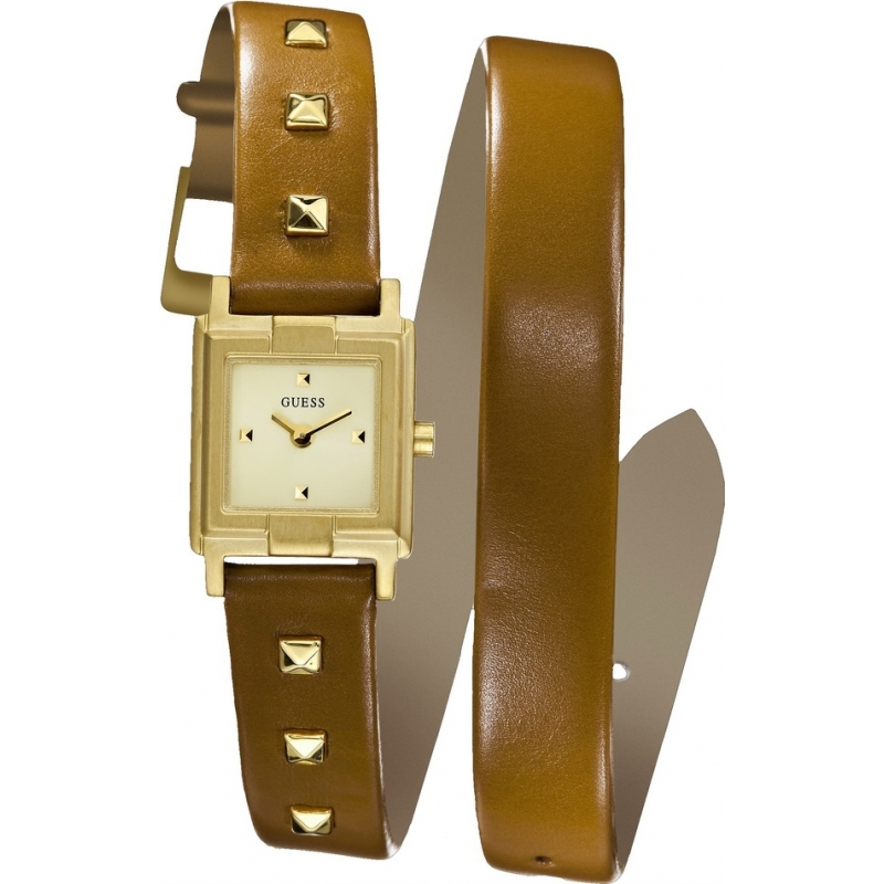 Guess W85123L1 N ROLL Brown Watch