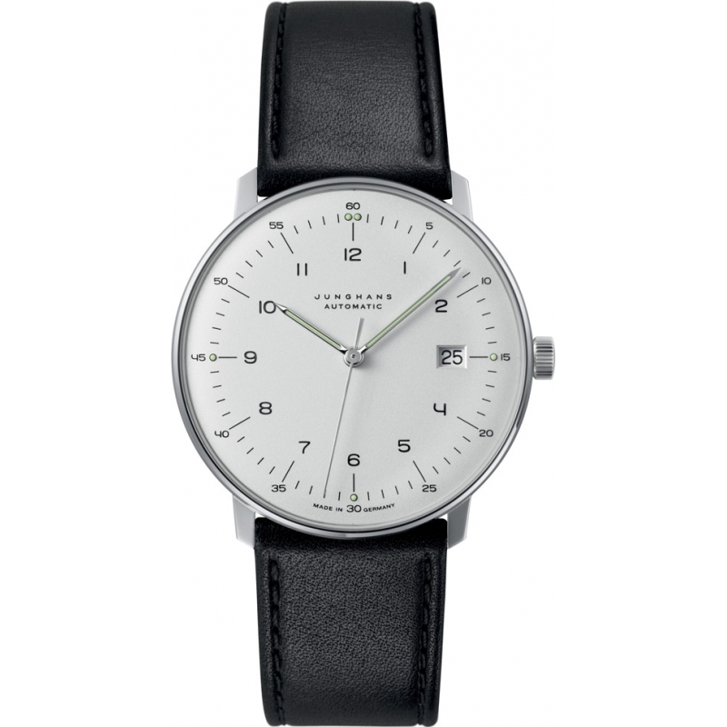 027 4700 00 max bill junghans 39 men 39 s watch watches2u. Black Bedroom Furniture Sets. Home Design Ideas