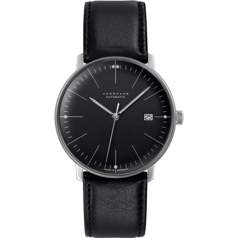 Junghans 027-4701-00 Max Bill relógio automático preto