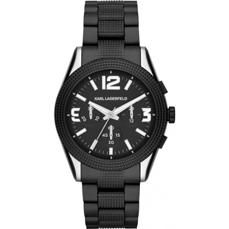 kl2801 mens karl lagerfeld watch watches2u karl lagerfeld kl2801 mens kurator black chronograph watch