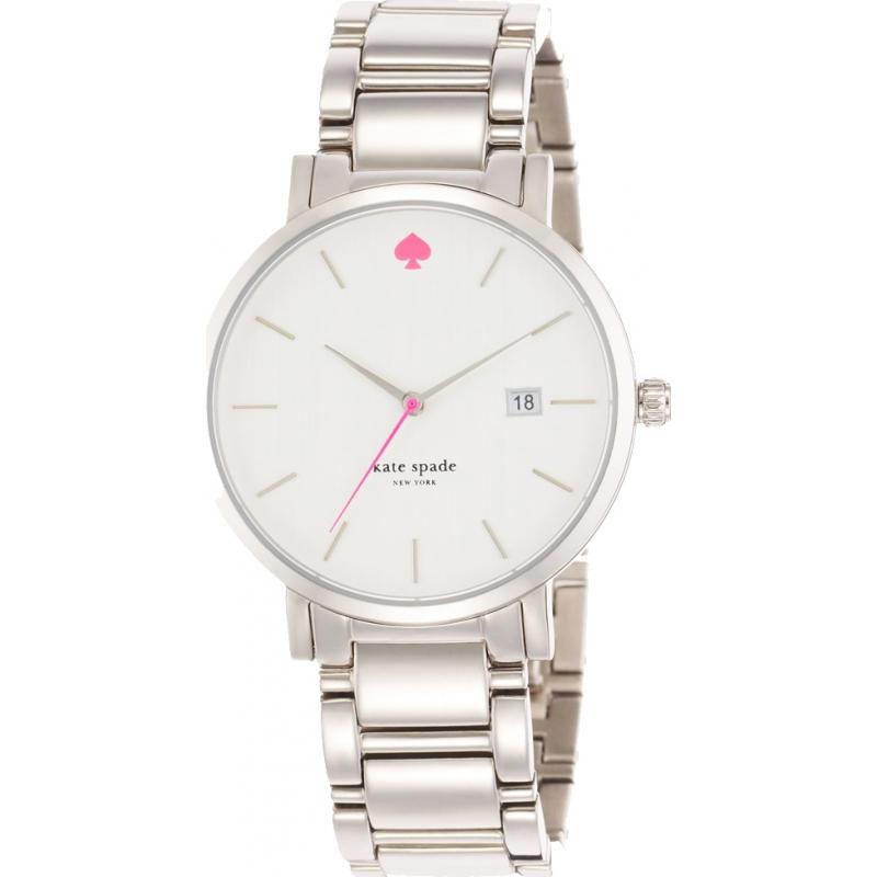 Kate Spade New York 1yru0008 Las Gramercy Grand Silver Steel Bracelet Watch