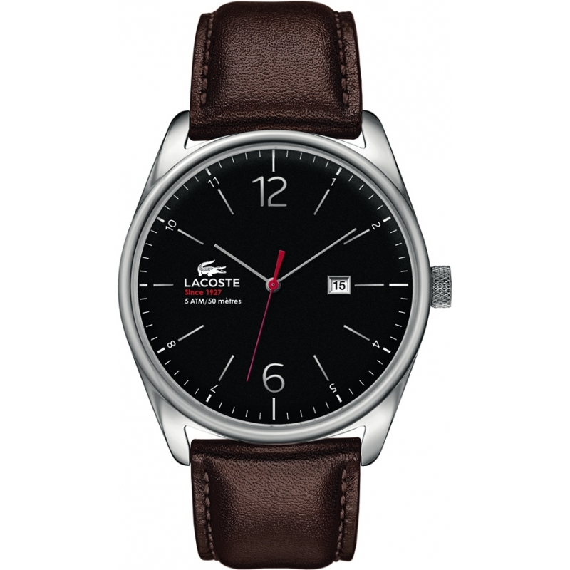 Lacoste 2010682 Mens Austin Black Brown Watch