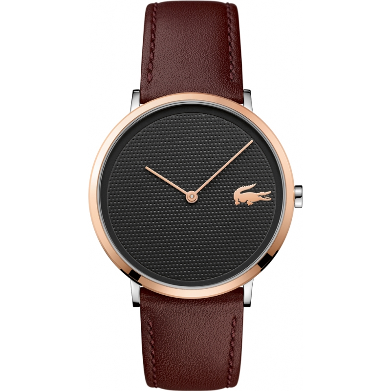 Brown Leather 2010952 Lacoste Watch Watches2u
