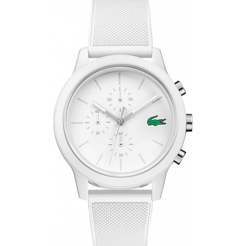 White 2010974 Lacoste Watch Watches2u
