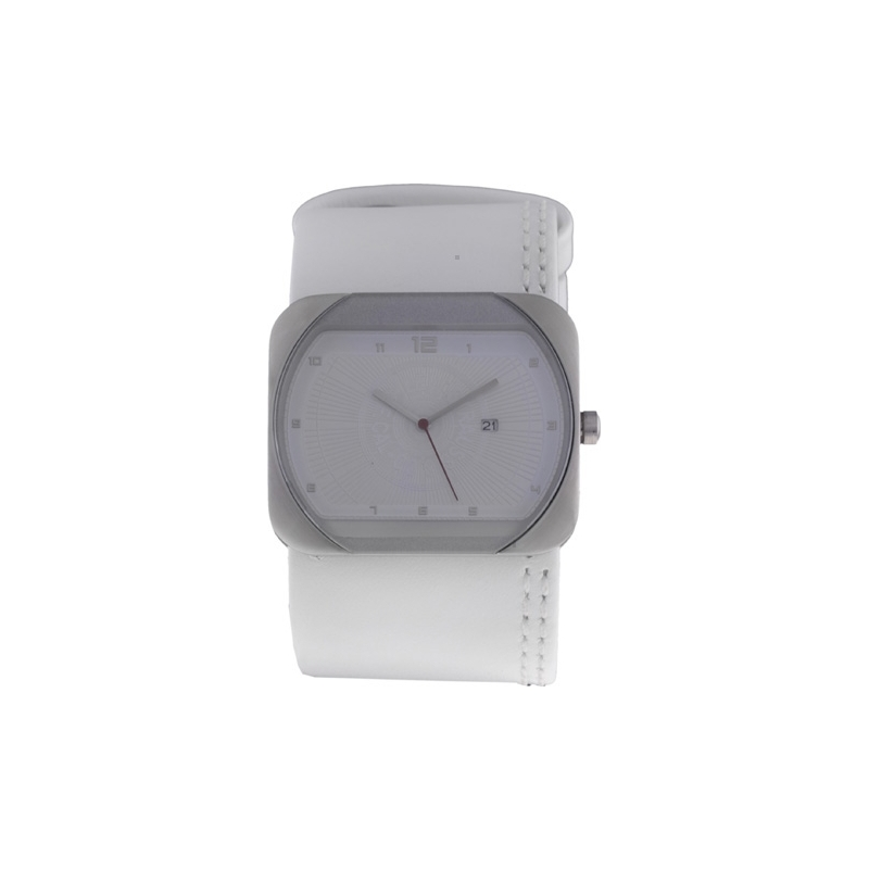 Levis Watches L001GICCRW-1 Ladies White Dial And Leather Strap Watch