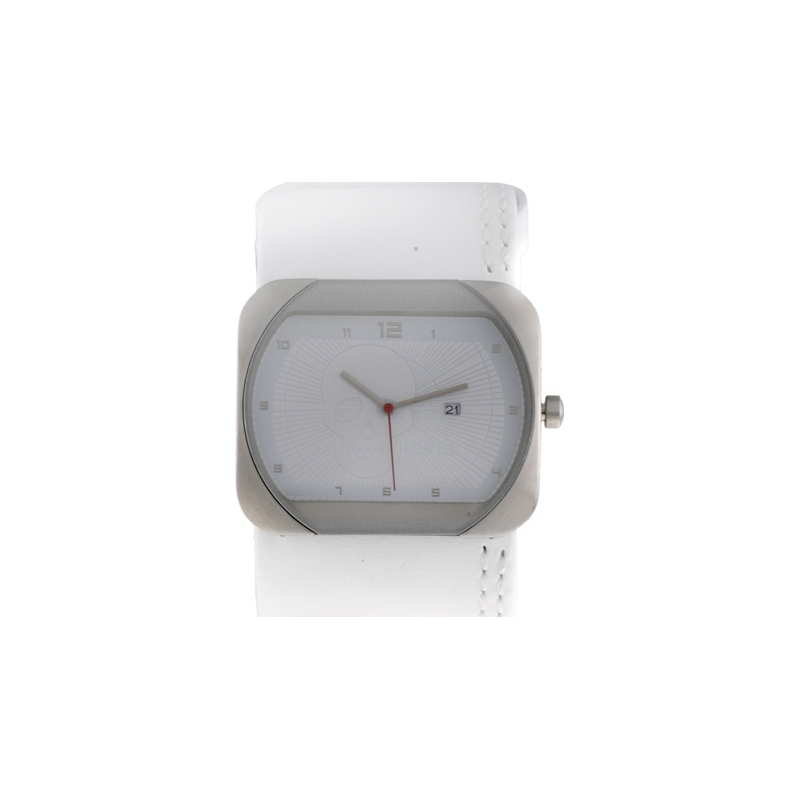 Levis Watches L001GICCRW Ladies White Dial And White Leather Strap Watch