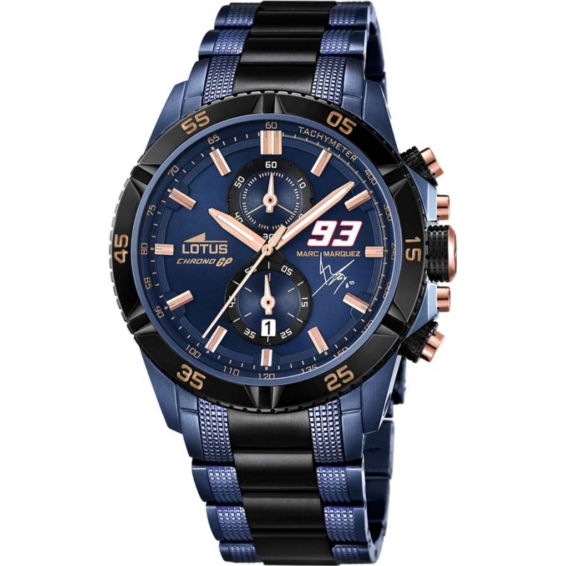 0ba99bcb631 Lotus 18230-1 Mens Marc Marquez Chrono GP Limited Edition Watch with  Additional Strap and