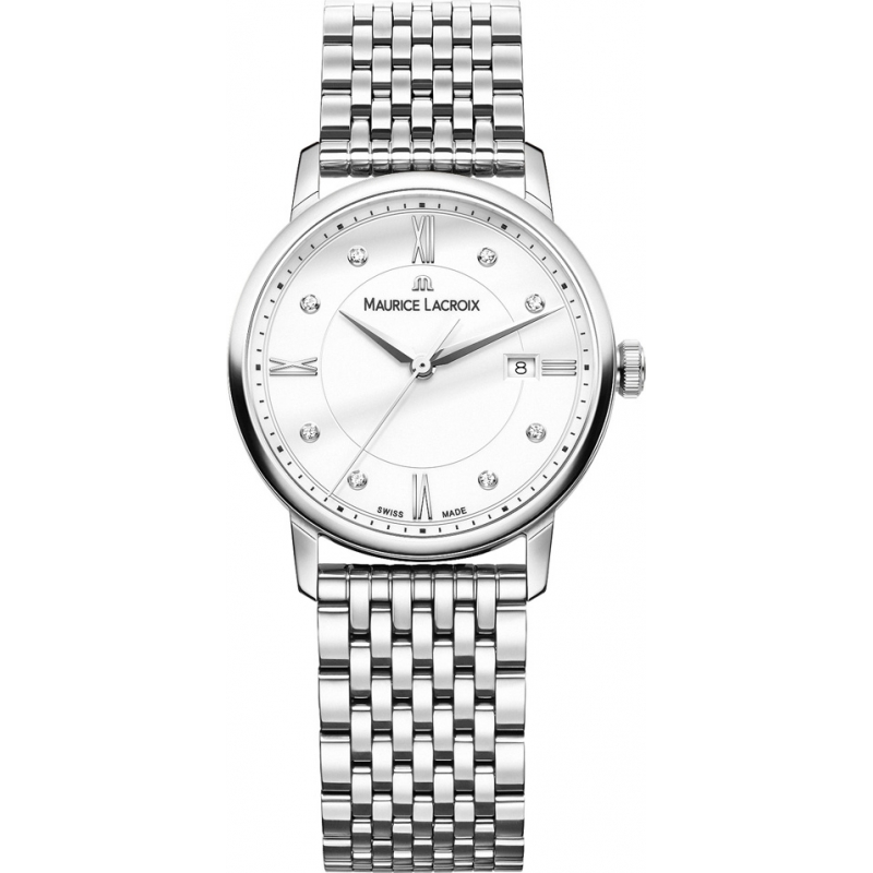 Maurice Lacroix EL1094-SS002-150-1 Damer Eliros silver stål armband klocka