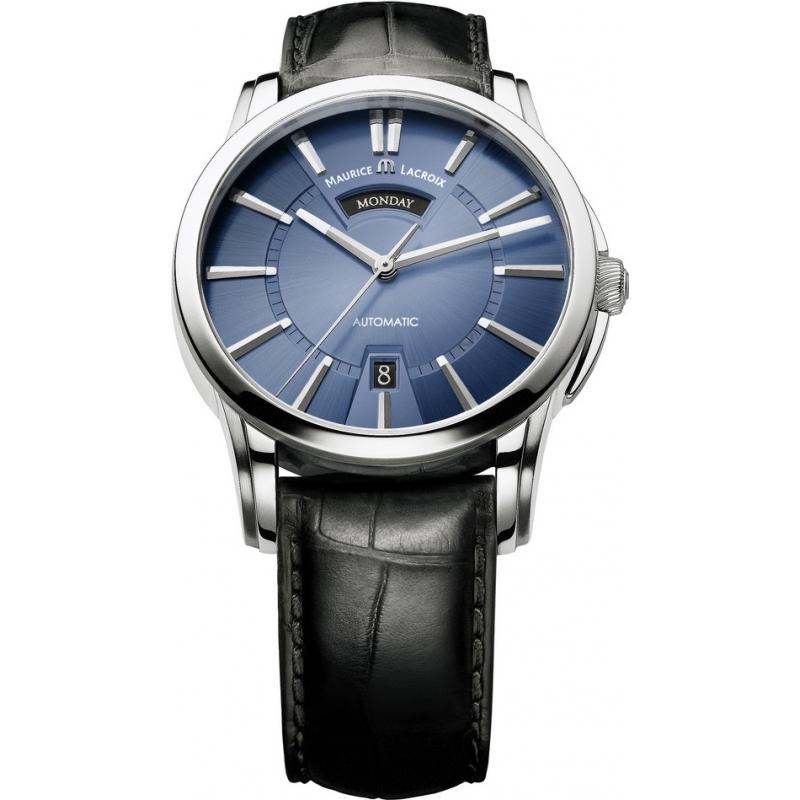 maurice lacroix watches pt6158 ss001 43e mens pontos