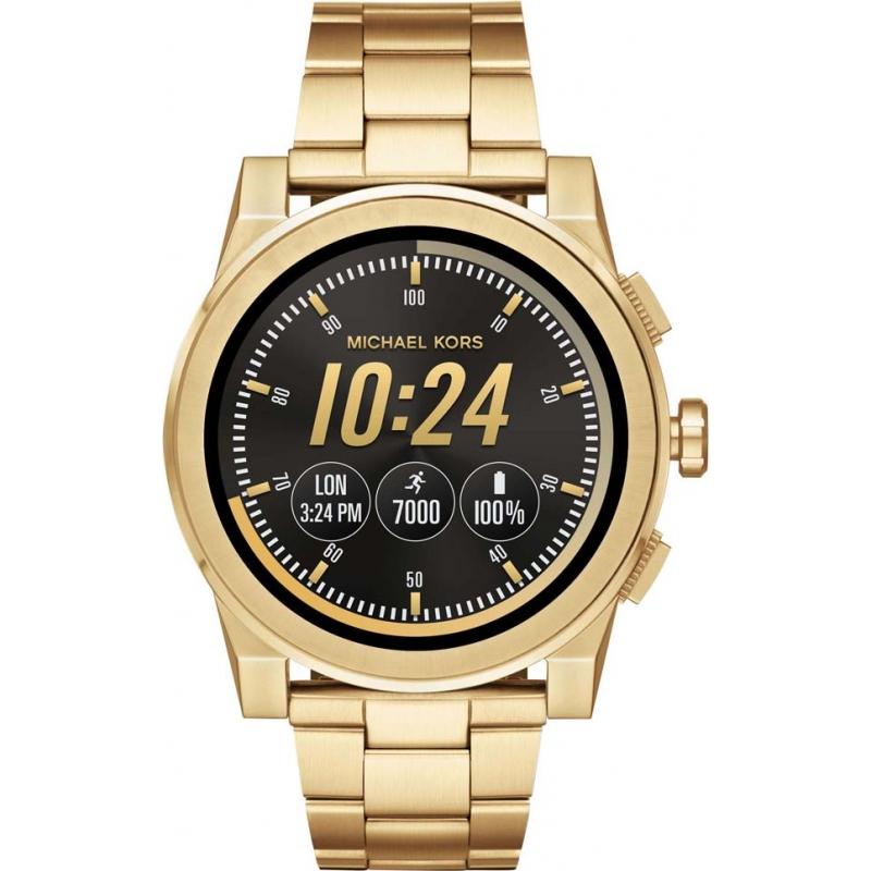 381fc34843f5 Michael Kors Access Mens Grayson Smartwatch MKT5026