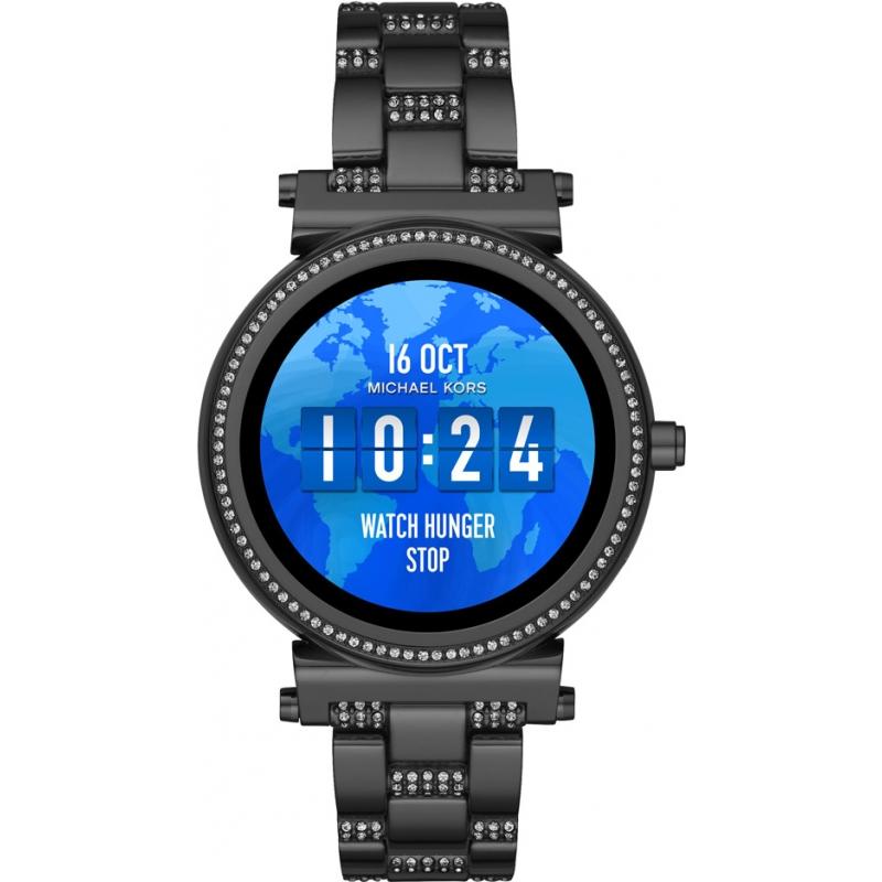 802293e59acc Black Metal MKT5035 Michael Kors Access Smartwatch