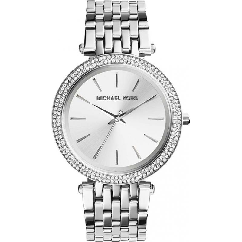 d05d1a0748d5 Michael Kors Ladies Darci All Silver Watch MK3190