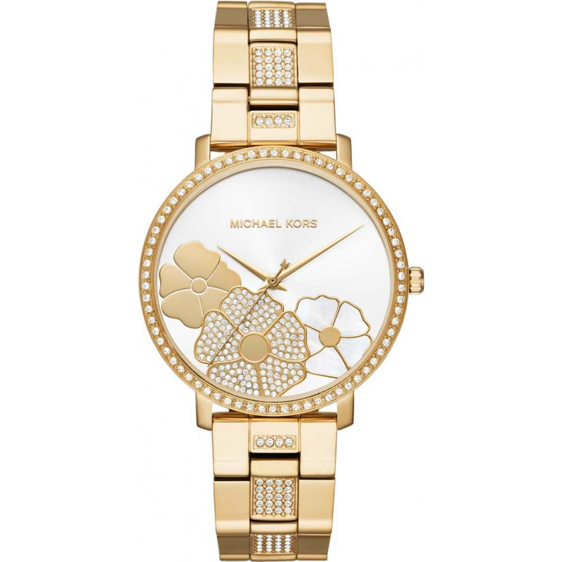Gold Metal Mk3864 Michael Kors Watch Watches2u