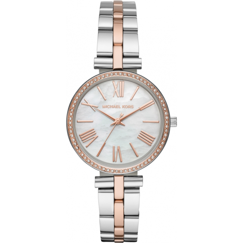 7f3db055b39f Silver Rose Gold Metal MK3969 Michael Kors Watch