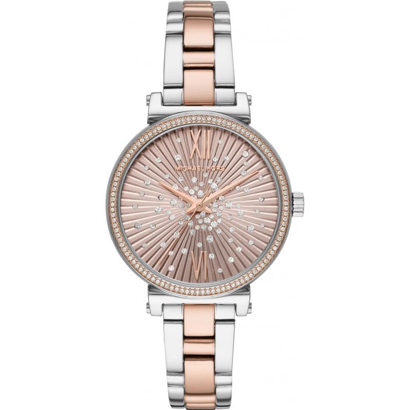 4bd2775c69276 Silver Rose Gold Metal MK3972 Michael Kors Watch