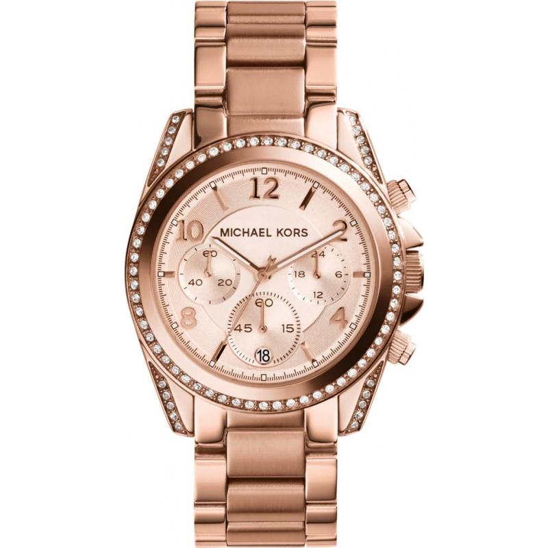 Rose Gold Metal Mk5263 Michael Kors Watch Watches2u