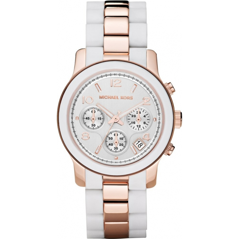 Michael Kors MK5464 Ladies Runaway Rose Gold Chronograph Watch