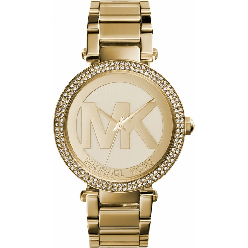 Michael Kors MK5784 Ladies Parker All Gold Watch