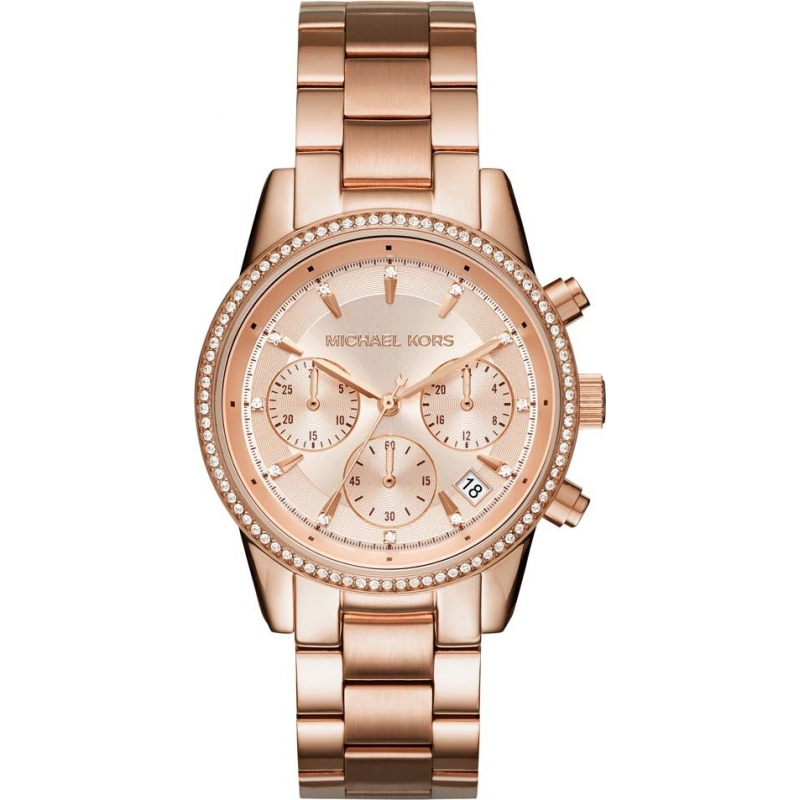 mk6357 ritz michael kors ladies watch watches2u