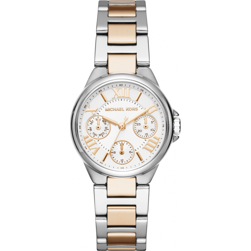 cae58cbc6832 Silver Rose Gold Metal MK6448 Michael Kors Watch