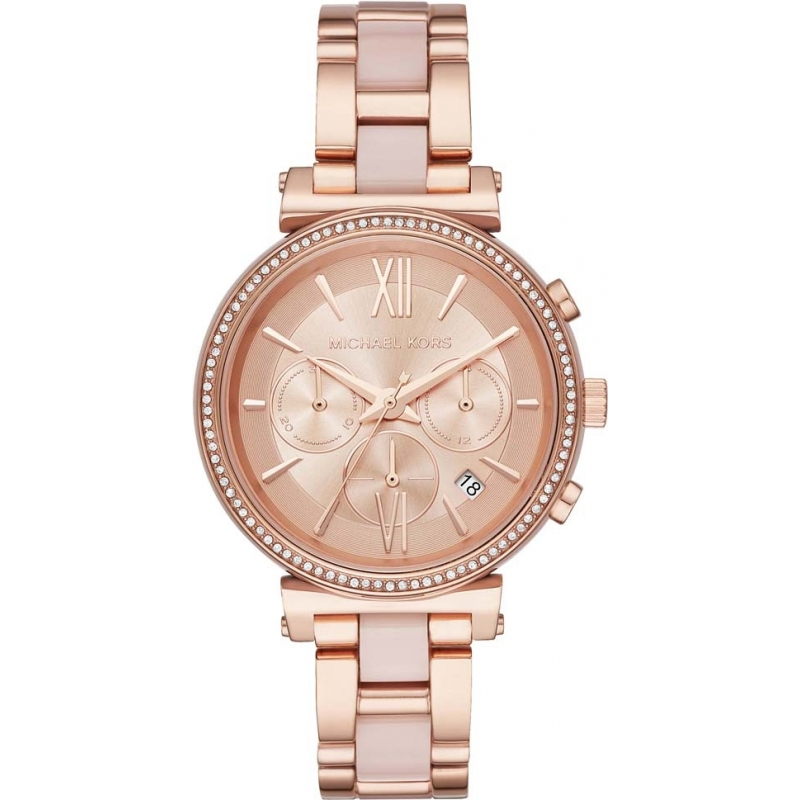 c76e95d50872 Rose Gold Metal MK6560 Michael Kors Watch