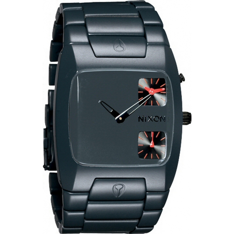 Nixon A060-1690 Banks Gunship Steel Watch