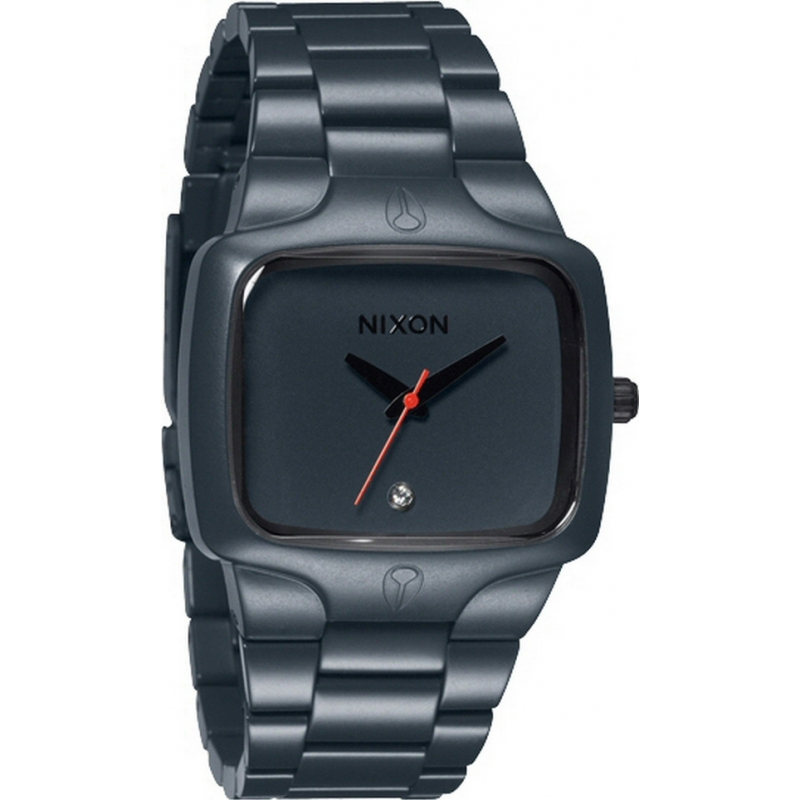 Nixon A140-1690 Player Gunship Steel Watch