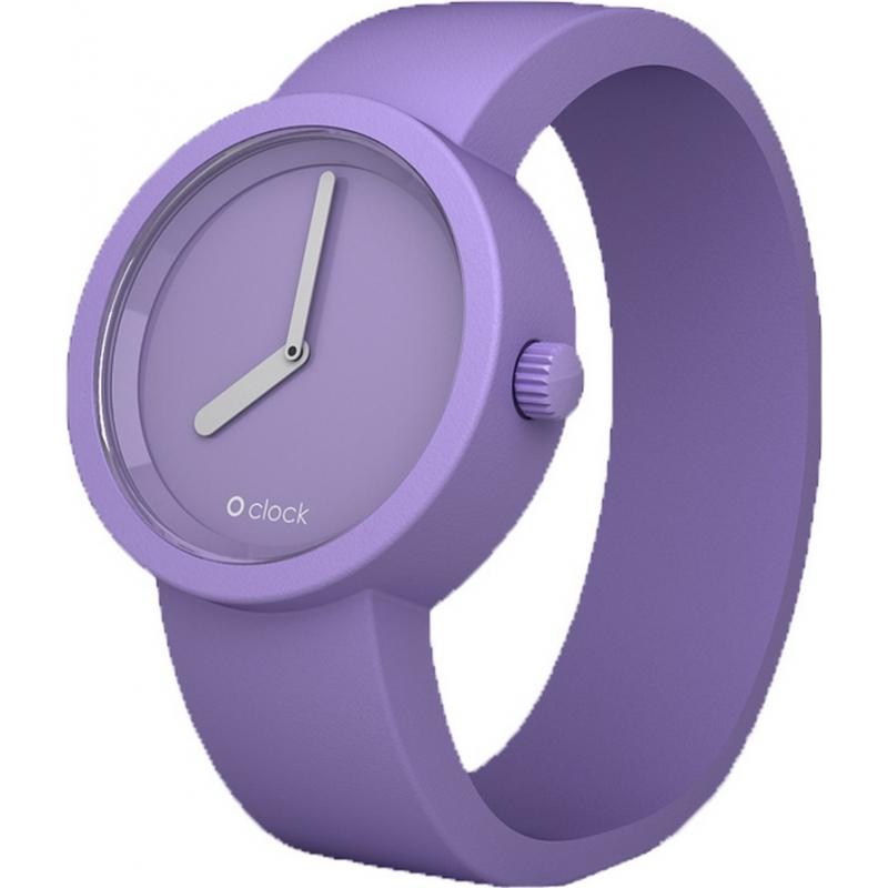 O clock OCT09 Tone On Tone Lilac Watch
