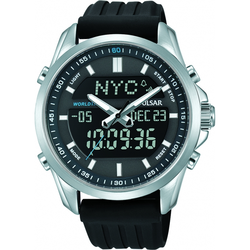 06cb9e72e Black Synthetic Leather PZ4023X1 Pulsar Watch | Watches2U
