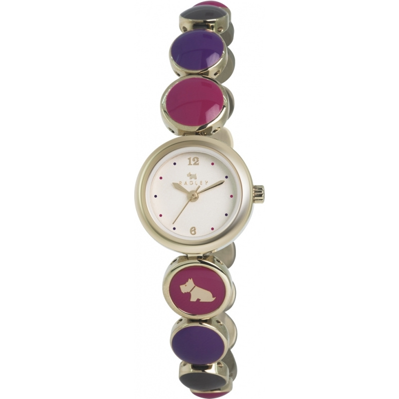 Radley RY4168 Ladies Multicolour Bubble Gold Plated Bracelet Watch
