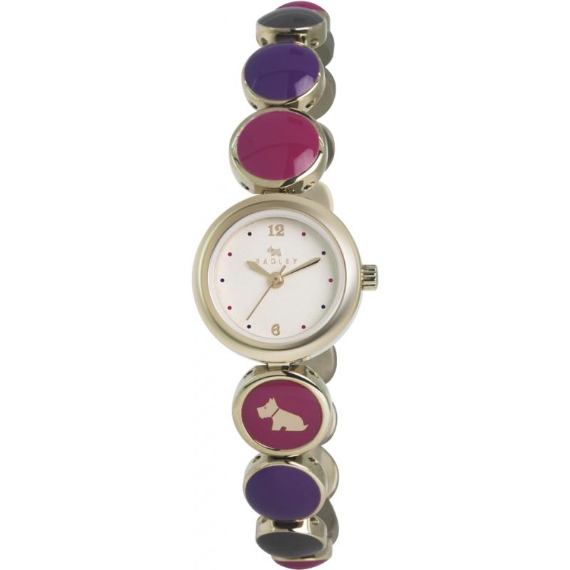 Radley RY4168 Ladies Multicolour Bubble Gold Plated Bracelet Watch