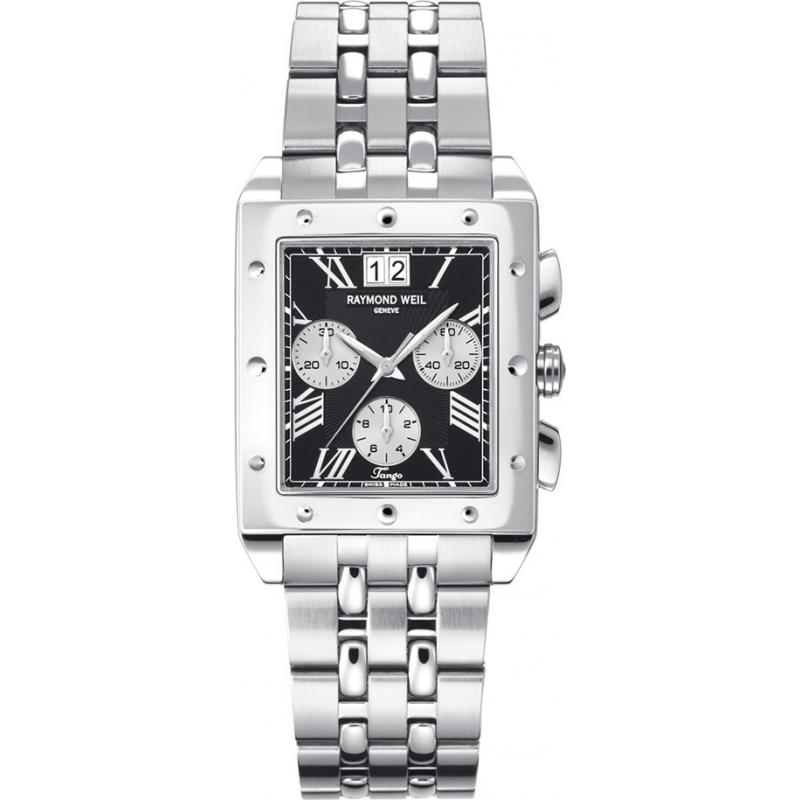 raymond weil watches 4881 st 00209 mens tango chronograph watch raymond weil 4881 st 00209
