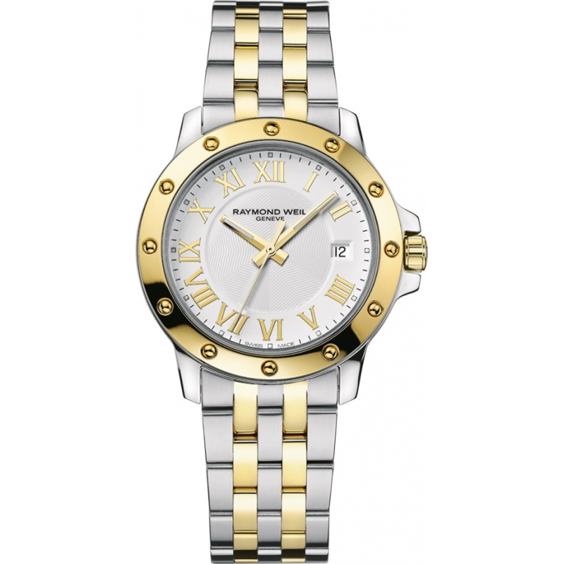 raymond weil watches 5599 stp 00308 mens two tone