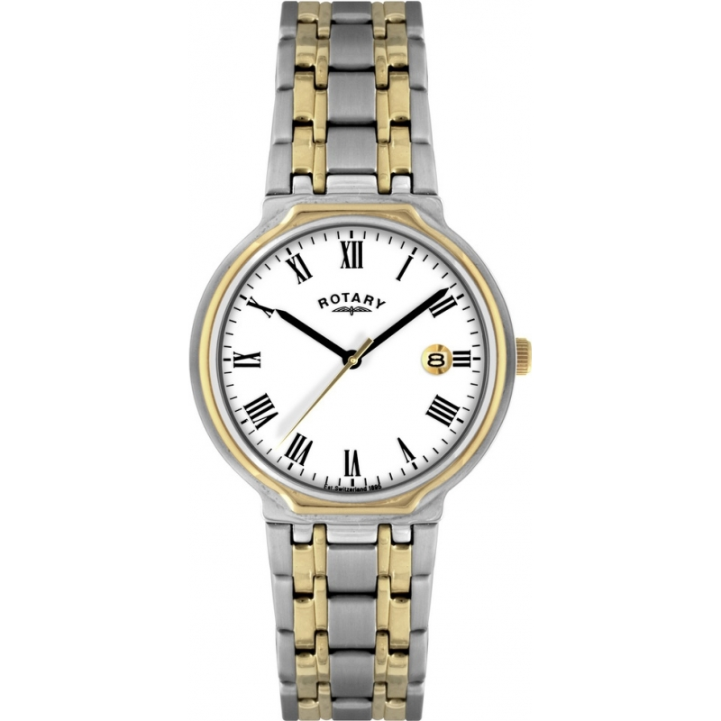 Rotary GB00231-01 Mens Two Tone Watch