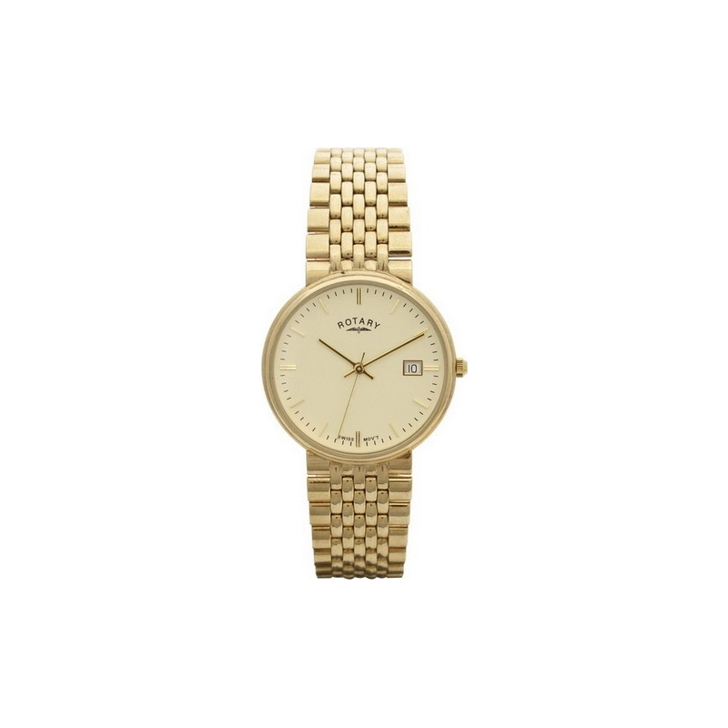 Rotary Watches GB11529-03 Mens 9Ct Gold Timepiece