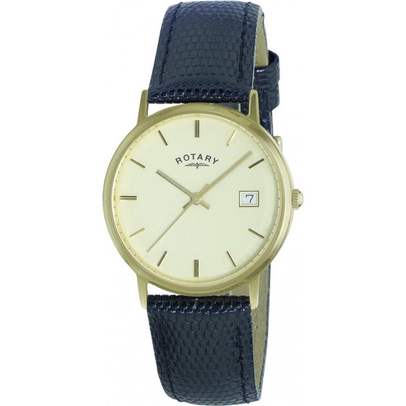 gs11476 03 rotary mens precious metals 9ct gold case watch rotary gs11476 03 mens precious metals 9ct gold case watch