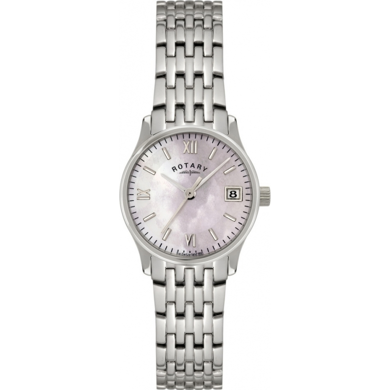 Rotary LB00792-07 Ladies Timepieces Pearl Silver Watch