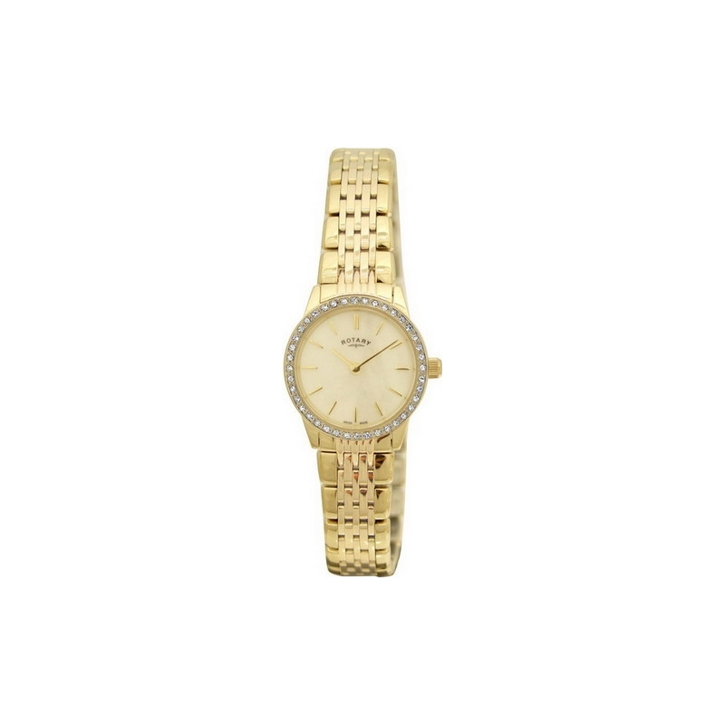 Rotary LB02338-07 Ladies Windsor Gold Plated Watch