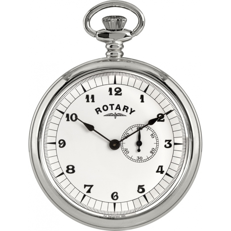 Rotary MP00730-18 Mens Pocket Watch