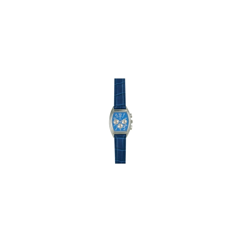 Royal London Watches 4423C4A Mens Blue Dial And Leather Strap Ss Watch