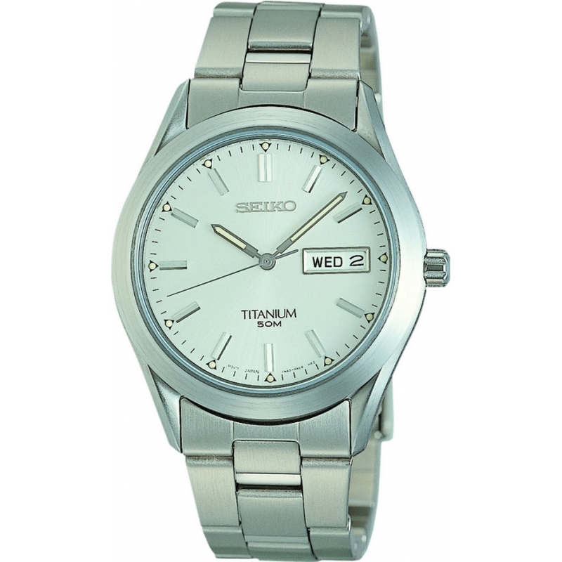 Seiko SGG705P9 Mens Titanium Watch