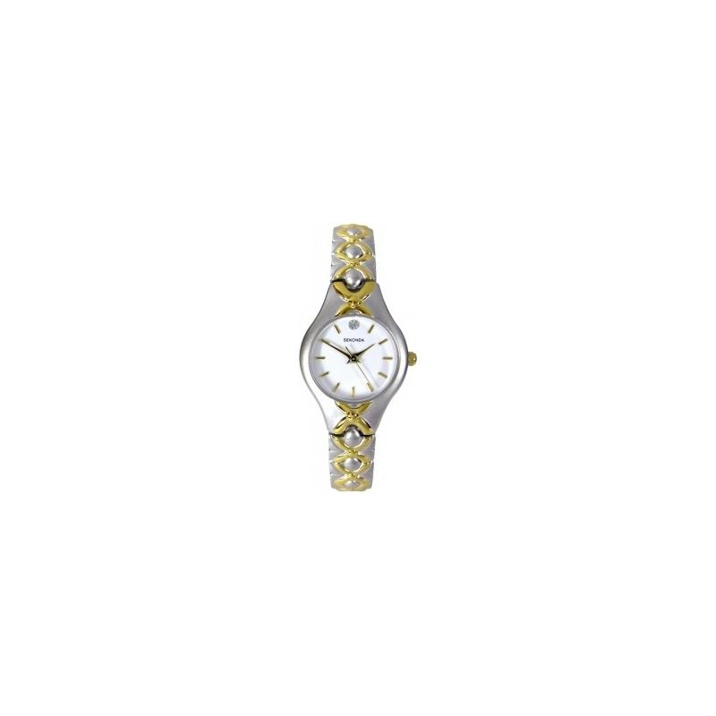 Sekonda 4230 Ladies Two Tone Watch