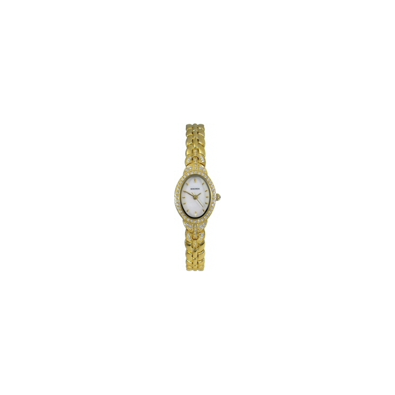 Sekonda 4706 Ladies Stone Set Gold Watch